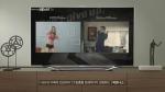 삼성 스마트TV 광고 캠페인 '숙모편'의 '피트니스' 서비스 (사진제공: 삼성전자)