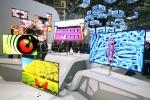 올해 CES에서 선보인 55인치 OLED TV (사진제공: 삼성전자)
