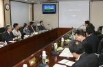 17일 KERI-두산중공업 기술연구원간 기술교류회에서 두산중공업 측이 두산중공업 기술연구원에 대해 소개하고 있다. (사진제공: 한국전기연구원)