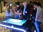 삼성전자가 지난 4월 17일 싱가포르 그랜드 하얏트 호텔에서 'SUR40'의 런칭행사를 열고 동남아 지역 공략에 나섰다. (사진제공: 삼성전자)