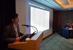 한국마이크로소프트 마케팅 오퍼레이션즈 사업본부 서버 총괄 김경윤 상무가 마이크로소프트의 빅데이터 전략에 대해 설명하고 있다. (사진제공: 한국마이크로소프트)