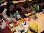 엄마와 함께 폴리 만들기 (사진제공: 아카데미과학)