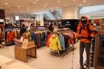 <아크테릭스>는 지난 3월 29일 경기도 평촌 롯데백화점에 매장을 오픈하고 다양한 이벤트를 열었다. (사진제공: 넬슨스포츠)