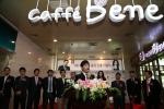 중국 진출 인사말 하는 김선권대표 (사진제공: 카페베네)