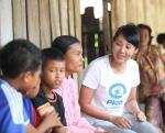 배우 전미선이 플랜코리아와 함께 인도네시아 아이들을 찾았다.