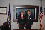 4월 30일 오후(현지시간) 미국 워싱턴에서 송종호 중소기업청장과 미 중소기업청(SBA) Karen G. Mills청장이 양자회담을 가졌다. (사진제공: 중소기업청)