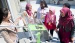 건국대는 3일 말레이시아 명문 공과대학인 UTM(University of Technology, Malaysia)학생 대표단이 건국대-프라운호퍼 차세대태양전지연구소 등을 방문했다고 밝혔다. (사진제공: 건국대학교)