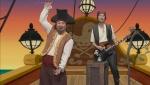 애니메이션 <제이크와 네버랜드 해적들>의 뮤직비디오가 국내 버전으로 새롭게 제작돼 오는 5일, 디즈니주니어와 디즈니채널에서 동시에 첫 선을 보인다. 뮤직비디오는 국내 유명 개그맨들이 출연한다.(왼쪽부터 개그맨 김준현, 양상국) (사진제공: 텔레비전미디어코리아)