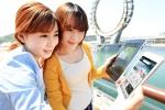KT는 '2012여수세계박람회'의 성공적인 개최를 위해 세계 최고 수준의 3W+LTE 네트워크 서비스를 제공한다. 사진은 전남 여수시 덕충동 여수엑스포 박람회장 내 해상문화공간인 '빅오(Big-O)' 인근에서 KT 모델들이 LTE와 3G 네트워크를 통해 '지니', '올레TV 나우' 등 모바일 콘텐츠를 시연하고 있는 모습. (사진제공: KT)