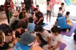 연천소방서는 지난 4일부터 8일까지 연천전곡리 구석기축제 기간 중 119안전체험캠프를 운영해 행사장을 방문한 어린이들에게 큰 호응을 얻었다. (사진제공: 연천소방서)