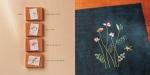 자수로 표현한 자운영의 한 생애. 한솔수북의 서른다섯 번째 그림책 <들꽃이 핍니다> 중. (사진제공: 한솔수북)