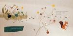 들꽃 씨앗이 어떻게 땅 속으로 돌아가는지 보여준다. 한솔수북의 서른다섯 번째 그림책 <들꽃이 핍니다> 중. (사진제공: 한솔수북)