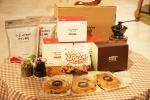 GS샵은 5월 14일(월) 오후 2시 20분 '치아파스 커피' 티백 2박스, 드립백 1박스와 '쌀로 만든 수제쿠키세트' 5개, '친환경 빅스마일 라이스칩' 1봉이 세트로 구성된 '착한 선물 세트'를 방송한다. (사진제공: GS홈쇼핑)