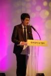 사회를 맡은 KBS 아나운서 김재원 (사진제공: 대한사회복지회)