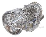 허츠사의 UD PK 렌트 트럭에 탑재되어 있는 앨리슨 3000 시리즈 모델이다. (사진제공: 앨리슨 트랜스미션)