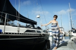 리조트에서는 롱드레스를 입으면 햇빛으로부터 다리를 보호하고 바람에 날리는 멋진 사진을 남길수 있다. (사진제공: 러브베베)