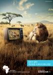 대한항공 CF, 케냐 동물의왕국 편 (사진제공: 대한항공)
