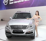 Ssangyong Moto, a part of the USD 14.4 billion Mahindra Group, unveiled the New Premium SUV, the Rexton W, for the first time at the 2012 Busan Motor Show held at Bexco on May 24. (사진제공: 쌍용자동차)