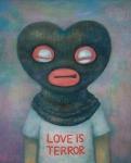 Love is Terror, acrylic on canvas, 91x73cm, 2009 (사진제공: 마리킴 아트 앤 컴퍼니)