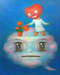 On the Cloud, acrlic on canvas, 91x73cm, 2011