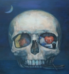 In the Skull Island, aclylic on canvas, 146x135cm, 2012