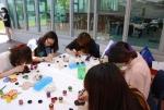 경일대학교 사랑의 열매 나눔메세지 전달 (사진제공: 사회복지공동모금회 대구지회)