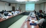 충남발전연구원(원장 박진도)은 29일 '연구자문위원회'를 새롭게 구성하고 올해 첫 회의를 가졌다. (사진제공: 충남연구원)