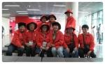 제41회 전국소년체육대회 자원봉사자 (사진제공: 고양시종합자원봉사센터)