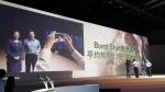 삼성전자는 6일 중국 북경에서 '갤럭시SⅢ 중국 월드투어'를 열고 제품 출시를 발표했다. 진행자들이 제품 기능을 설명하는 모습. (사진제공: 삼성전자)