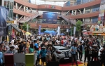 지난 9일 '베스트 드레스업 카 콘테스트(Best Dress-up Car Contest)' 행사가 펼쳐진 일산 라페스타 광장의 모습. (사진제공: 현대자동차)