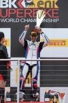 BMW 그룹의 모터 사이클 부문인 BMW 모토라드는 지난 13일 영국 도닝턴에서 열린 '2012 슈퍼 바이크 월드 챔피언십(2012 World Superbike Championship)'에서 자사의 'S 1000 RR' 바이크로 첫 우승을 차지했다고 밝혔다.