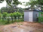 용지문화공원 빗물 정화시스템 시설 (사진제공: 창원시청)