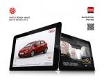 기아차의 프라이드(수출명: 리오) '모바일 애플리케이션'이 세계 3대 디자인상 중 하나인 '2012 레드닷 디자인상'의 커뮤니케이션 디자인 분야에서 최우수상을 수상했다.