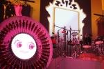 로봇타타와 뮤직로봇 공연 중  마림바로봇과 드럼로봇 (사진제공: 코이안)