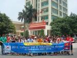 군산대학교 총학생회장 허성진 등 재학생 32명은 6월 27일(수)부터 7월 2일(월)까지 6일간 캄보디아 시엠립에 있는 품스떵 초등학교에서 하계 해외 봉사활동을 했다. (사진제공: 군산대학교)