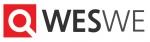 WESWE는 (주)왓에버서치의 공식 텍스트로고 타입이다.