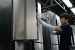 삼성전자 광주사업장 T9000 냉장고 생산라인 작업현장 (사진제공: 삼성전자)