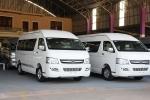 중국에서 제작되는 짝퉁 Hi-Ace차량으로 도요타 차량과 엠블렘만 틀릴 뿐 똑같이 만들어 판매하고 있다. 판매가격은 도요타 차량의 3/5 으로 저렴하다. (사진제공: 아세안투데이)