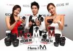 캐논 미러리스 카메라 'EOS M'