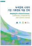 삼성지구환경연구소의 '녹색경제 시대의 기업 기후변화 적응 전략' 보고서