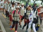 학생들과 국토장정을 3시간여동안 함께 한 동명대학교 설동근 총장 4 (사진제공: 동명대학교)