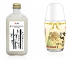 Nakchun, a specialized company in Makgeolli, presents two kinds of Gijangsoo Makgeolli at famous department stores
