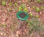 뱀퇴치기 사진(태양광충전용) (사진제공: 중원ENG)