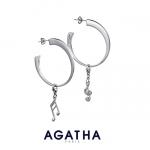 아가타, 참 펜던트 귀걸이 (사진제공: 폴린컴퍼니)