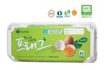 [사진설명] HU 80 이상 보증하는 무항생제 인증 계란으로 동물복지 축산 인증을 받은 '맛이 다른 신선함 프래그 유정란' (4구, 2200원 / 10구, 5500원)