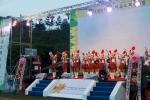 POYF 2012 개회식을 축하하는 석정여자고등학교 마칭밴드 (사진제공: 국립평창청소년수련원)