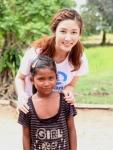 후원아동 사니트(여,12세)를 직접 만난 이수경