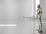 야마하골프의 최첨단 로봇 D.RON(드론)
