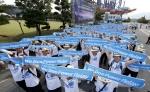 두산중공업, 창립 50주년 기념 남도 500리 걷기 대장정 마쳐
