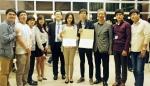 충남대학교 동물바이오시스템과학과 김운수(석박사통합 3년), 동물자원생명과학과 하유나(석사 2년) 학생이 일본에서 개최된 Japan-China-Korea graduate student forum(제5회 한중일 대학원생 포럼)에서 감사패와 최우수 포스터상을 수상했다.